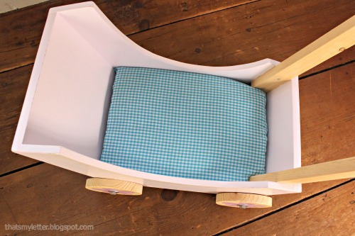 diy doll pram mattress