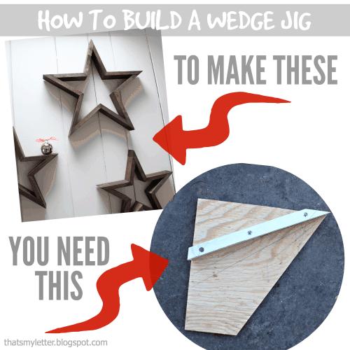 wedge jig to make stars