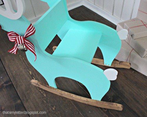 reindeer rocker seat