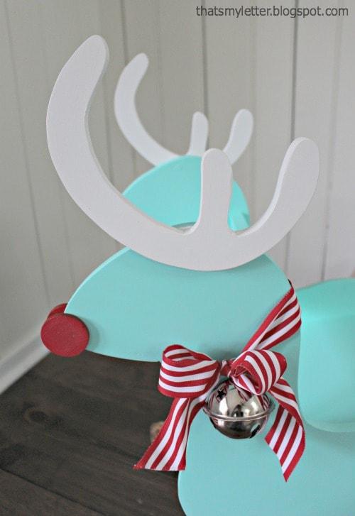 diy reindeer rocker antlers