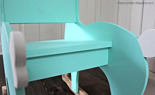 rocker seat detail