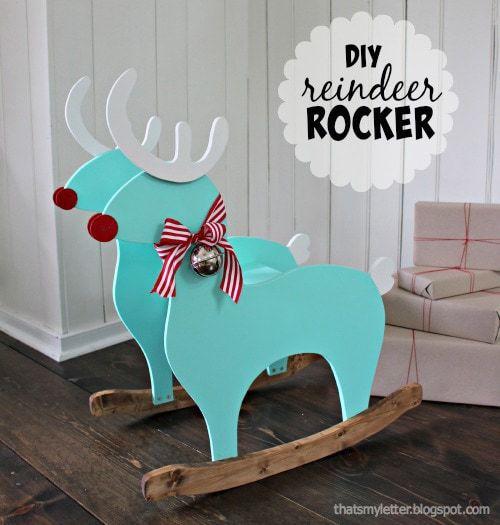 Diy Kids Reindeer Rocker Jaime Costiglio
