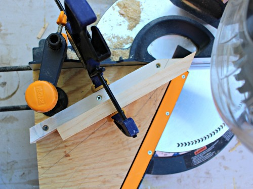 clamp board to jig