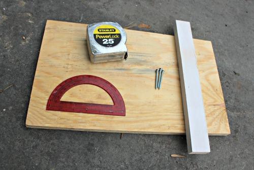 supplies to make a wedge jig