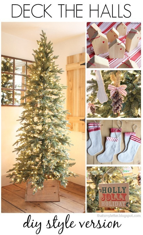 deck the halls diy style