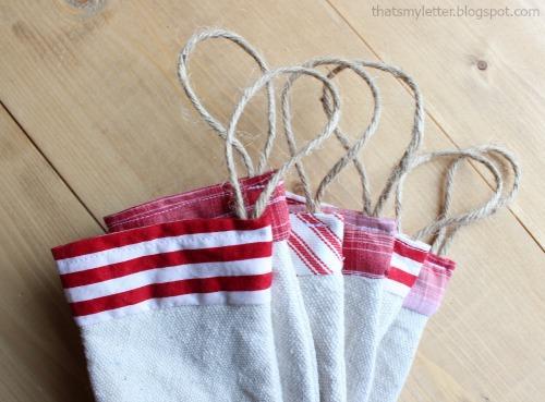 jute string as ornament hangers