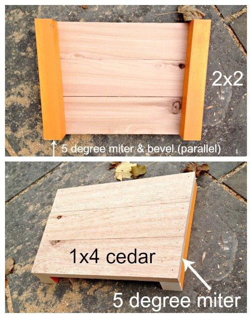 wood tree collar sides