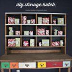 DIY Storage Hutch