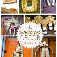 """T"" is for Thanksgiving Decor Projects"