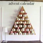 DIY Wood Tree Advent Countdown Calendar