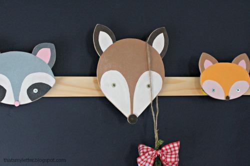 animal wall hooks