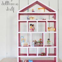"""D"" is for Dollhouse Shelf"