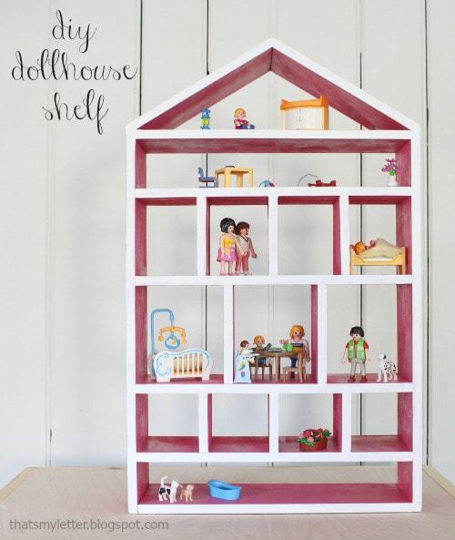 diy dollhouse shelf