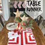 DIY Geometric Table Runner