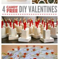 """C"" is for Candy Free DIY Valentines"