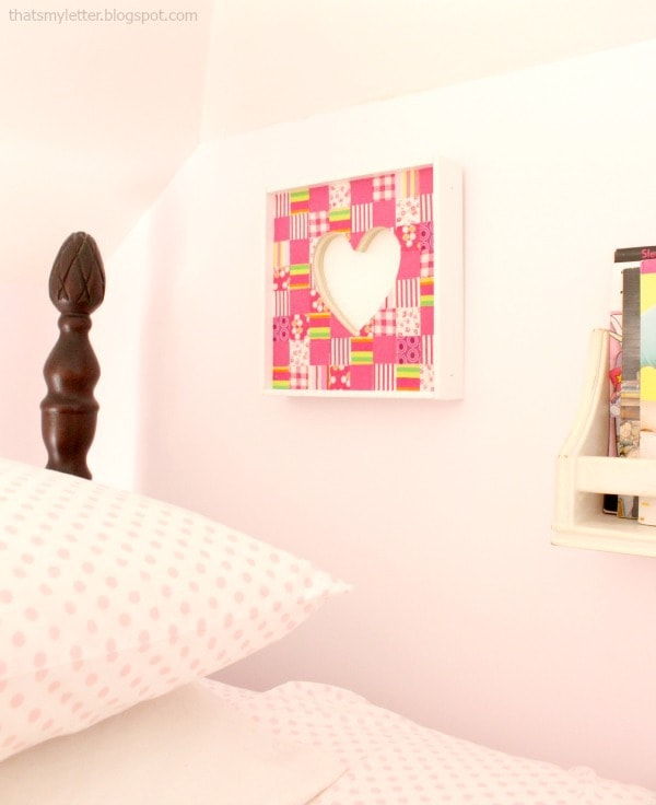 fabric collage wall art