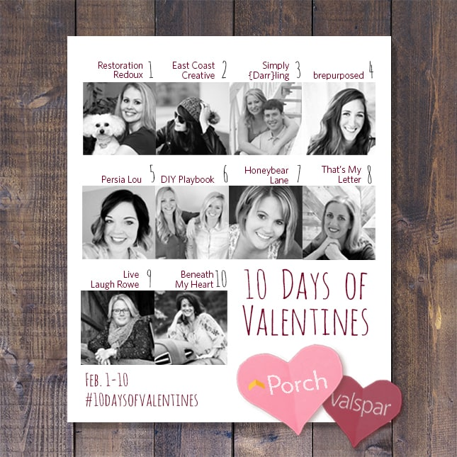 Porch 10 days of Valentines