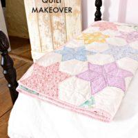 DIY Vintage Quilt Makeover