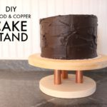DIY Copper Cake Stand