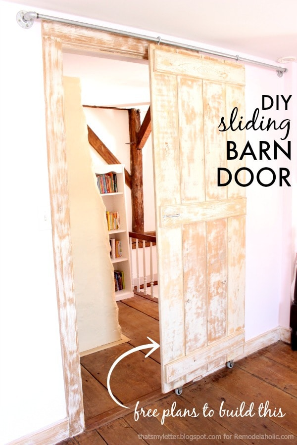 Diy Sliding Barn Door Plans Jaime Costiglio