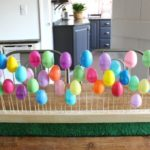 DIY Plastic Egg Centerpiece