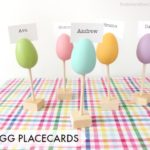 DIY Egg Place Cards