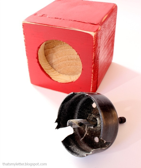 how to make a wood gumball machine