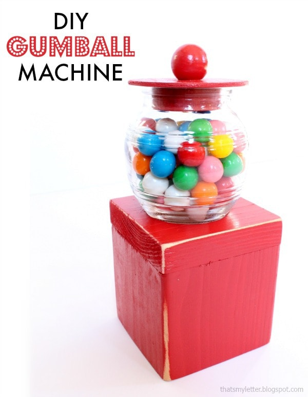 diy gumball machine kids craft