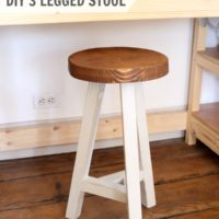 DIY Three Legged Stool