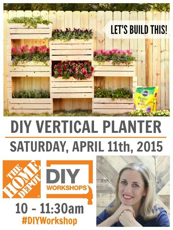 vertical planter diy workshop