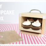 DIY Cupcake Box (4 pack)