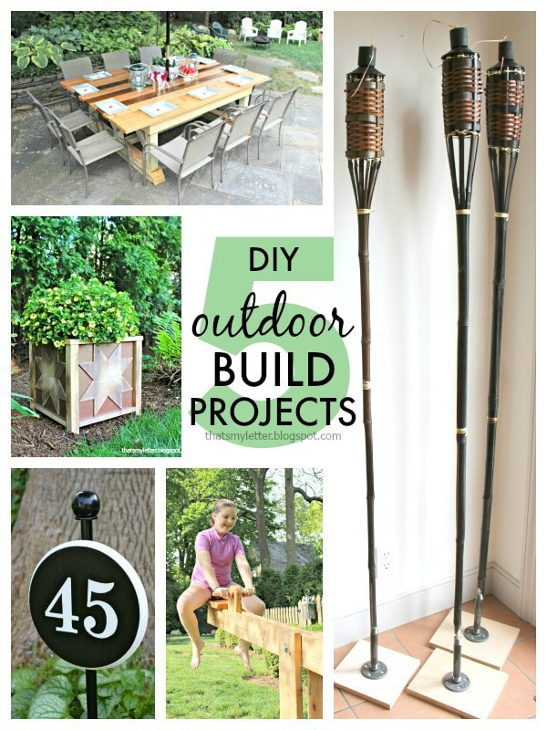 five diy outdoor build projects