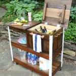 DIY Grill Cart / Bar Cart