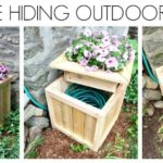 DIY Hose Hiding Planter