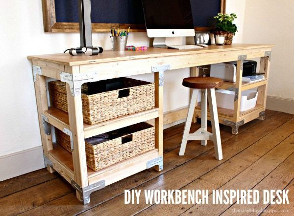 workbench inspired desk