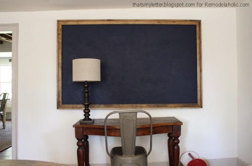 diy giant bulletin board tutorial