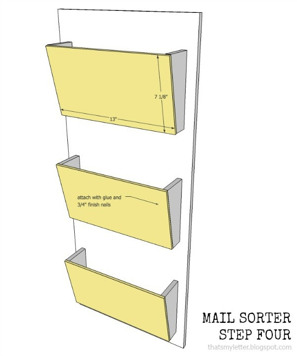 mail sorter step four