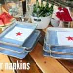 DIY Star Napkins
