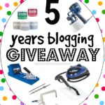 5 Years Blogging Giveaway