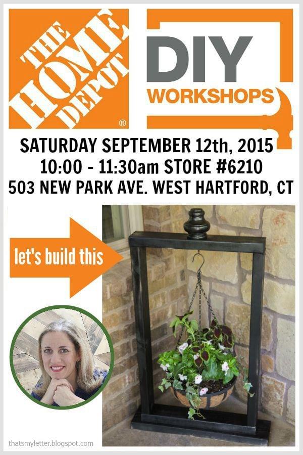 DIY workshops at The Home Depot