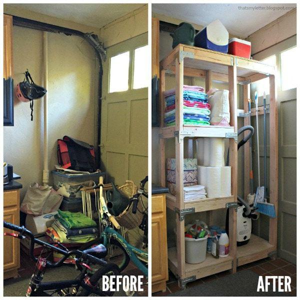 Kitchen Storage Ideas Youtube: DIY Cleaning Storage Tower