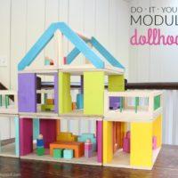 DIY Modular Dollhouse & Furniture