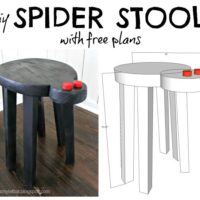 DIY Spider Stool