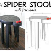 DIY Spider Stool