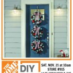 DIY Workshop: Christmas Wreath Trio