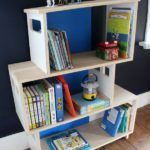 DIY Modern Bookshelf