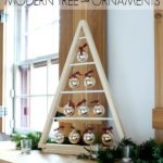 DIY Modern Tree with Ornaments