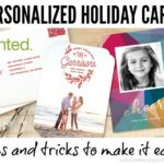 Easy Personalized Holiday Cards