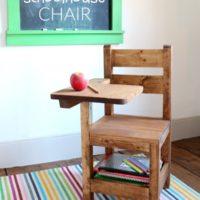 DIY Schoolhouse Chair