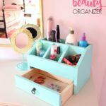 DIY Beauty Organizer / Desktop Organizer